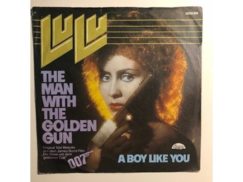 "7"" Lulu - The man with the golden gun 74 Germany 007 James Bond"