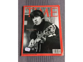 George Harrison Tribute Number / Time Magazine (BEATLES)