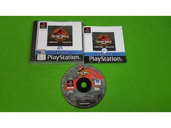 Jurassic Park The Lost World KOMPLETT Playstation ps1