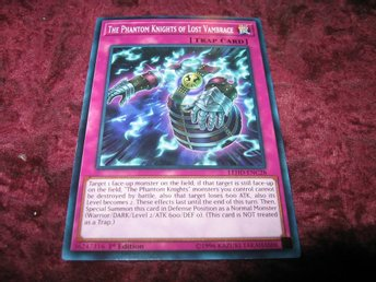 YU-GI-OH THE PHANTOM KNIGHTS OF LOST VAMBRACE LEHD-ENC28