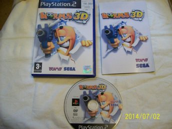 WORMS 3D (PS2) BRA SKICK