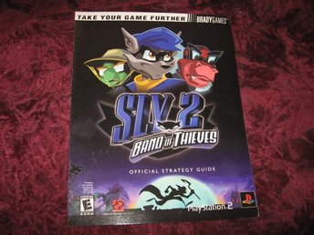 SLY 2 BAND OF THIEVES OFFICIAL STRATEGY GUIDE  PLATSTATION 2 (BRADYGAMES)NY OANV