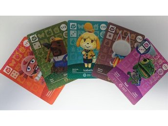 Animal Crossing Amiibo Cards series 2 Nr 111 - 115