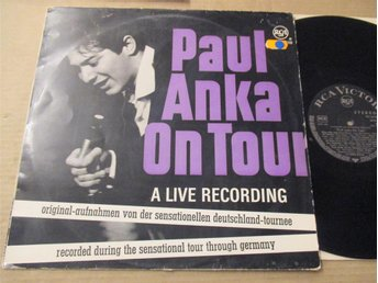Paul Anka On Tour