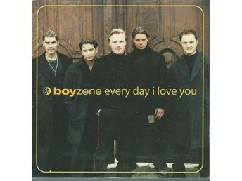 BOYZONE - EVERY DAY I LOVE YOU  ( CD MAXI/SINGLE )