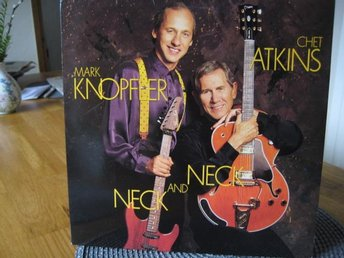 "LP: MARK KNOPFLER & CHET ATKINS: "" NECK AND NECK "" Fr.1990"