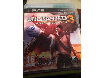 Uncharted 3. PS3.