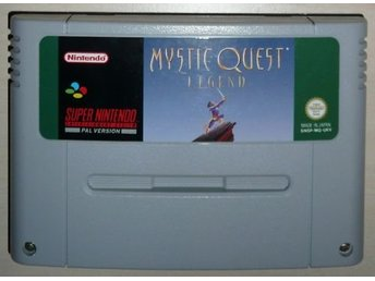 Mystic Quest Legend - Super Nintendo
