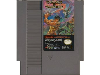 Wizards & Warriors - NES - Kassett