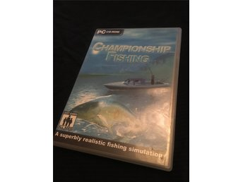 Championship fishing PC CD-ROM