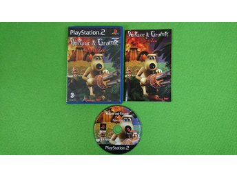 Wallace & Gromit in Project Zoo PS2 Playstation 2