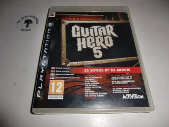 Guitar hero 5 - ej manual