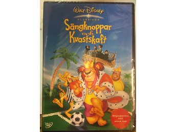 Disney DVD Sängknoppar och Kvastskaft Bedknobs and Broomsticks INPLASTAD