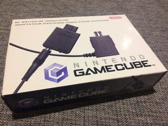 Nintendo Gamecube***RF-Switch***Komplett***