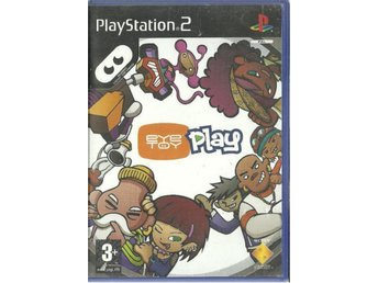 EYE TOY PLAY  (  PS2 SPEL )