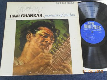 RAVI SHANKAR - Portrait of Genius, World Pacific LP 60-tal USA