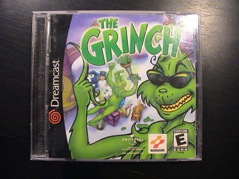 THE GRINCH / SEGA DREAMCAST / KOMPLETT I BRA SKICK / USA-Import