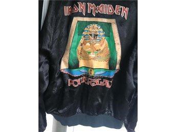 Iron Maiden Powerslave Turnéjacka Original - Glommen - Iron Maiden Powerslave Turnéjacka Original - Glommen