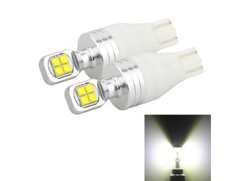 LED bromsljus T15 40W 800 LM 6000K - 2Pack
