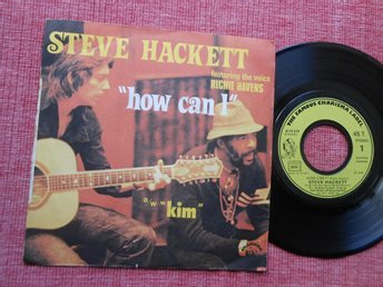 "7"" Steve Hackett -How Can I/Kim PS FRA Genesis Richie Havens"