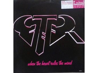 "GTR title*  When The Heart Rules The Mind / Reach Out* Rock, Arena Rock 12"" UK"