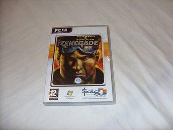 Command & Conquer Renegade PC CD ROM Engelsk Utgåva - överkalix - COMMAND & CONQUER RENEGADE - PC CD ROM (Engelsk)Detta är det enda och unika spelet i Command & Conquer serien som är ett first person shooter spel.Engelsk version av spelet - 2 disc utgåva.Spelet är i fint skick, mindre ytliga repor finns - överkalix