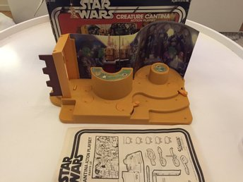 Starwars vintage Creature Cantina Action Playset