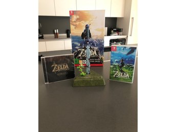 Legend Of Zelda Breath Of The Wild Limited Edition