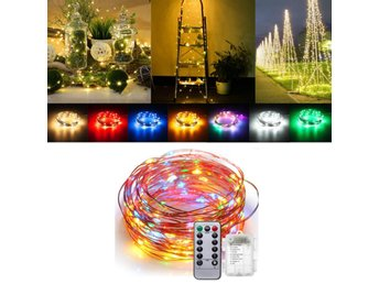 Battery Powered 5M 50LEDs Waterproof Copper Wire Fairy St...