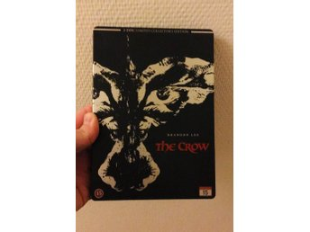 The Crow(2-disc limited steelbook, svensk utgåva)