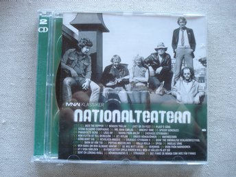 Dubbel-CD Nationalteatern Klassiker