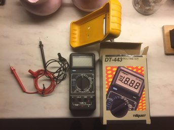 MULTIMETER TILLQUIST DT-443 nyskick