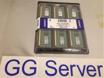 Kingston KTH-PL313K3/6G  3x2GB DDR3 PC10600 ECC RDIMM