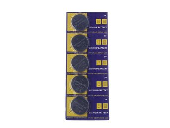 Lithium Batteri CR2430 - 5-Pack