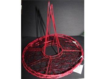 blombinderi stålställning röd på höjden florist 4st - Skogås - blombinderi stålställning röd på höjden florist 4st - Skogås