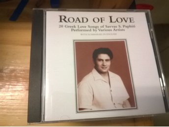 Road Of Love - 20 Greek Love Songs Of Savvas S    (270870480