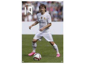 Real Madrid Affisch Modric 52