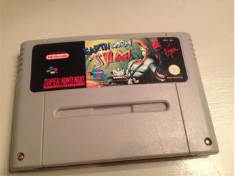 Earthworm Jim - Super Nintendo - SNES - EUR