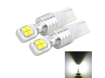 LED bromsljus T10 40W 800 LM 6000K - 2Pack