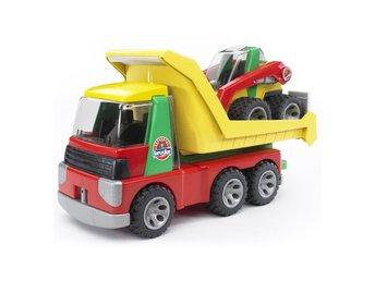 Bruder 2 - Roadmax - Transporter with Skid Steer Loader - Varberg - Bruder 2 - Roadmax - Transporter with Skid Steer Loader - Varberg