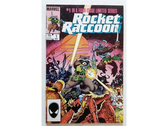 US Marvel - Rocket Raccoon (1985) # 1 in NM