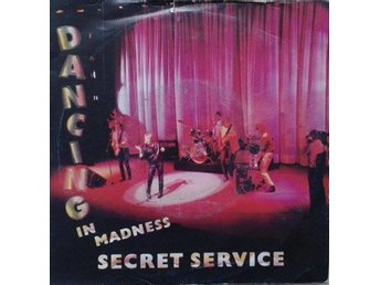 "Secret Service title* Dancing In Madness* Synth-pop 7"" SWE"