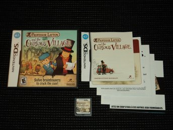 DS Professor Layton Curious Village