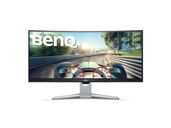 BenQ 35'' EX3501R, Curved 1800R 3440x1440 VA 21:9, 4ms, HDMIx2/DP/Headphone Jack