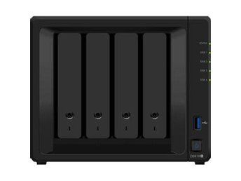 Synology DS918+ DiskStation, 4-bay, Intel Celeron quad-core 2,3 GHz CPU,  4GB RA