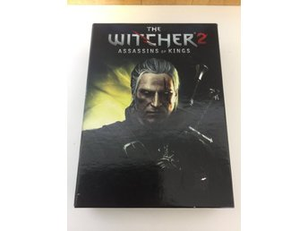 The Witcher 2 Assasins of Kings. Box