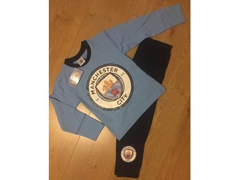 ~Nytt ~ Manchester City Pyjamas Stl 11-12 år ~ London UK~