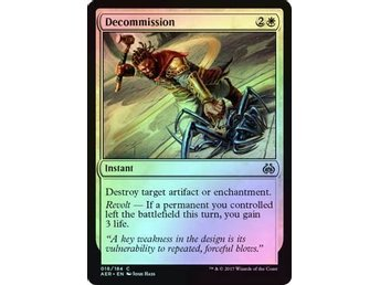 MtG Foil Decommission, Aether Revolt