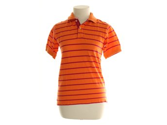 GANT, Polotröja, Strl: 140, Orange/Rosa