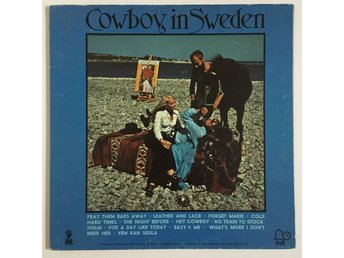 Lee Hazlewood - A Cowboy In Sweden - Gatefold sleeve